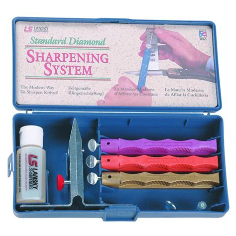 knife sharpening kit lansky 174 medium and knife sharpening kit