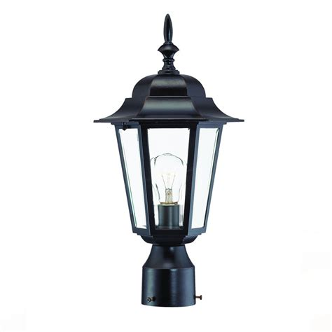 elite light fixtures camelot collection post mount 1 light outdoor architectural bronze light fixture 6117abz elite