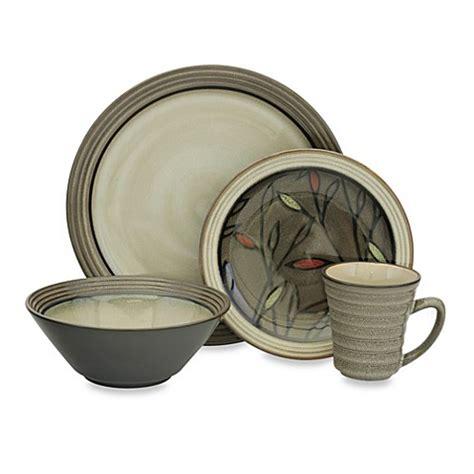 sango verona black 16 dinnerware set bed bath beyond