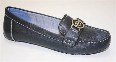 navy blue loafers womens s shoes hilfiger raelyn classic loafers
