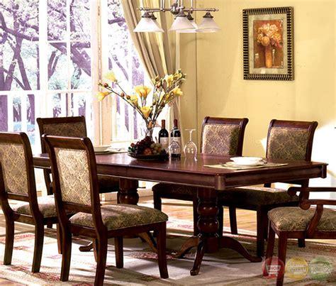 st nicholas ii antique cherry round pedestal dining room st nicholas i transitional antique cherry formal dining