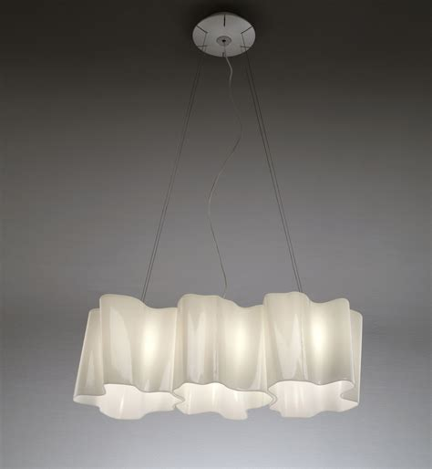 logico grande pendant 3 elements in a row white big by