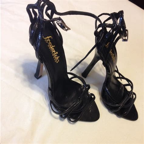 fredericks of high heels 87 frederick s of shoes black patent