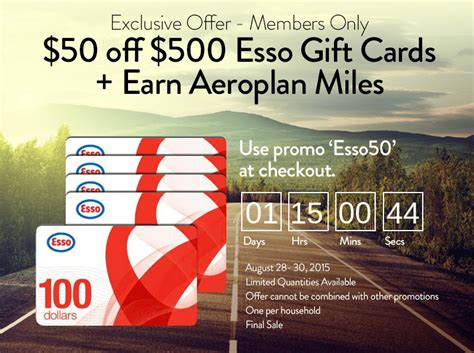 Esso Gift Card - shop ca canada deals 500 esso gift cards for 450 canadian freebies coupons