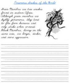 6 best images of free cursive writing worksheet printables