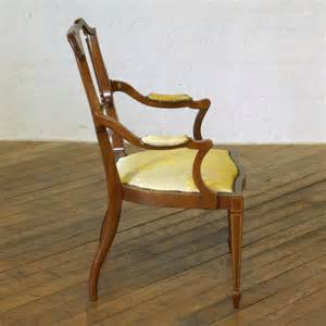 edwardian armchair edwardian mahogany armchair antiques atlas
