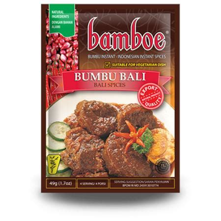 Bamboe Bumbu Tom Yum 54gr bamboe bumbu bali 40g from buy asian food 4u
