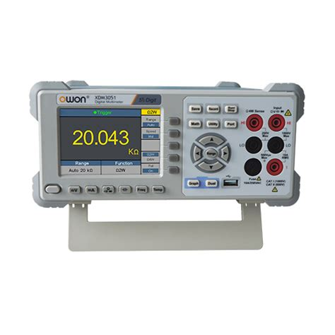 bench top multimeter northtree associates announces new owon xdm series benchtop digital multimeters