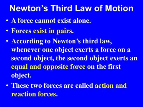 biography of isaac newton and his third law newton s laws of motion