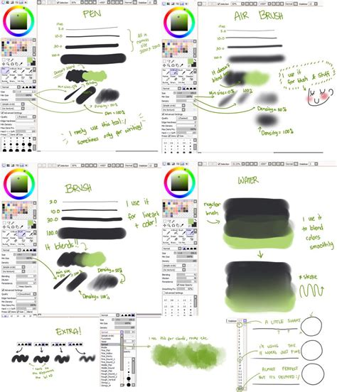 paint tool sai all tools my settings updated by ichan desu on deviantart