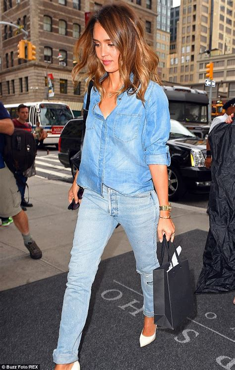 Get Albas Comic Con Denim Look by Alba Rocks To Toe Light Wash Complete With