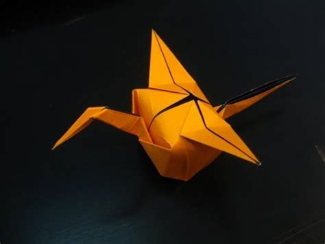 Advanced Origami Crane - origami crane hat tutorial tim rickman