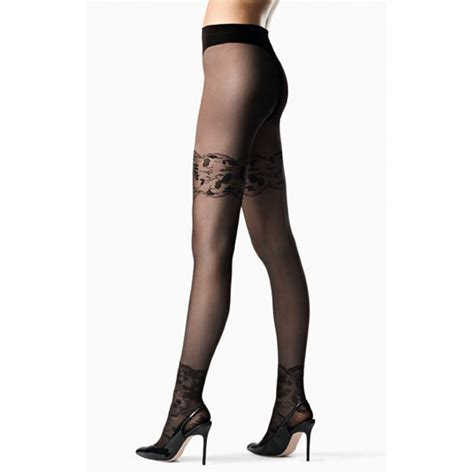 Pattern Ankle Tights | fogal belle ankle lace pattern tights fogal from