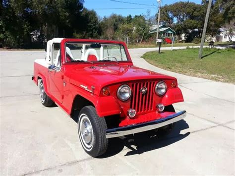 Jeep Commando For Sale 1967 Jeep Jeepster For Sale 4x4 Cars
