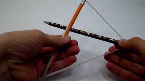 how to make how to make a pencil bow