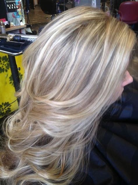 ash brown highlights and lowlights long light ash blonde hair with natural ash brown