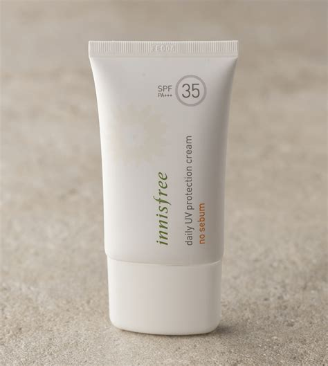 uv l for skin treatment skin care daily uv protection cream no sebum spf35 pa