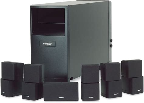 bose 5 1 home entertainment systems bose acoustimass 10