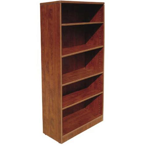 ndi office furniture laminate bookcase 71 quot h pl156