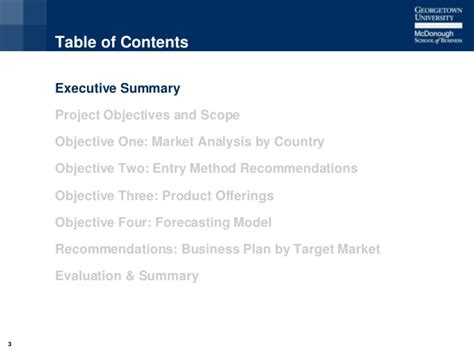 Scope Of Executive Mba by Georgetown Mba Presentation Zurich Uae Analysis Of