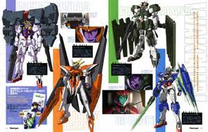 gundam 00 mobile suits april 2010 bahamut six