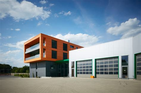 factory building reference project office and factory building bielefeld