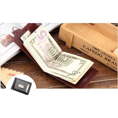 Dompet Uang Kertas baellerry dompet kartu dengan klip uang kertas black jakartanotebook
