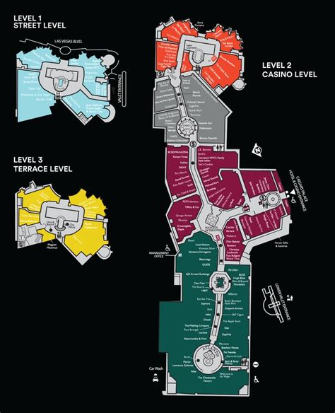 caesars forum shops map best 25 las vegas fashion ideas on