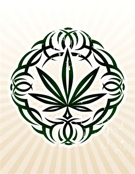 tribal cannabis tattoos 30 best images about tattoos on the compass