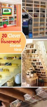 Storage Ideas For Basement 20 Clever Basement Storage Ideas Hative
