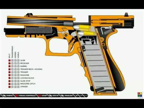 Motorrad Auspuff Funktionsweise by Como Funciona Uma Pistola Glock
