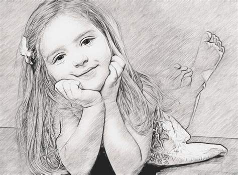 Sketches Of by Turn Your Photo Into A Graphite Pencil Sketch