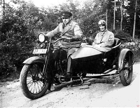Oldtimer Motorrad Beiwagen by Romance And Vintage Motorcycles Good Spark Garage