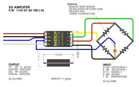 strain wiring diagram strain circuit diagram