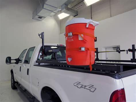 truck bed cooler rack em rack for full size truck bed side rails holds 1