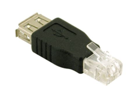 Converter Rj11 To Usb rj11 to usb a adapter phone line modular cables accessories