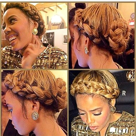 stylist feature love this goddess braid done by stylist feature love this golden greecian braid on