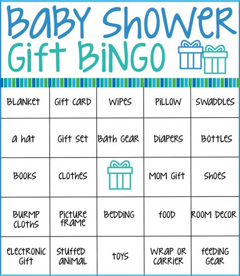 free baby shower bingo card template baby shower bingo cards real housemoms