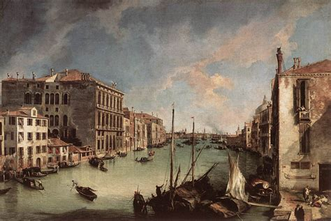 oscura canaletto grand canal looking east from the co san vio 1723