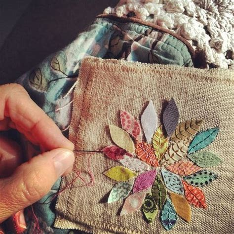 pin by meagan diemert on someday i will live in the a flower sewing in lino someday i ll do something