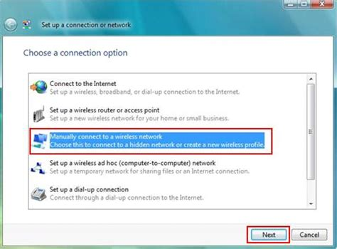 install wireless network adapter windows vista