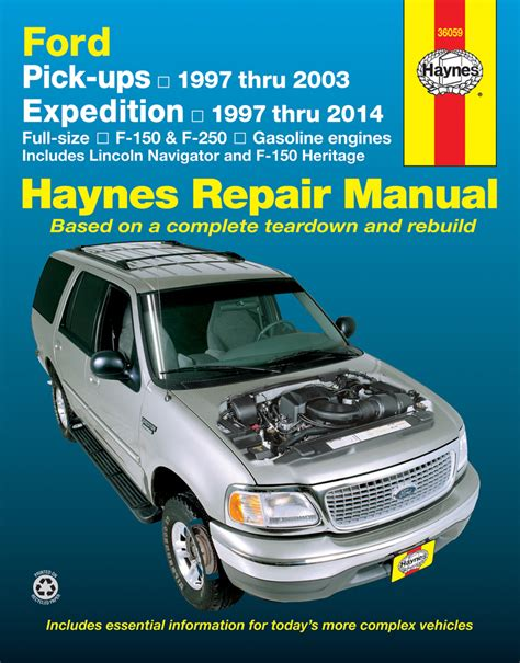 Ford Pick Ups Expedition Amp Lincoln Navigator Haynes