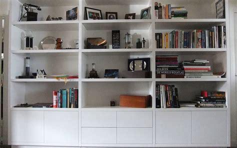 witte boekenkast boekenkast op maat laten maken robin hoet interieur