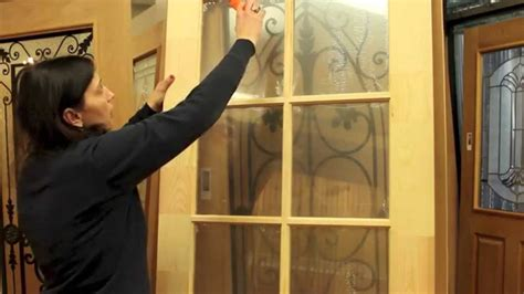 Royal Door Limited Removing Plastic From Glass Panes How To Glass Door