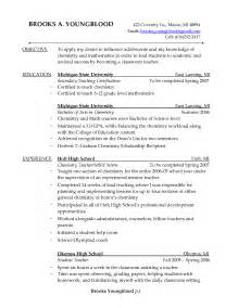 Math Resume Objective by Resume Exle Free Tutor Resume Sle Tutor Sle Resume Math Tutor Resume Sle