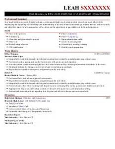Electrocardiograph Technician Sle Resume by Ekg Technician Resume Exle Earl K Center Baton Louisiana
