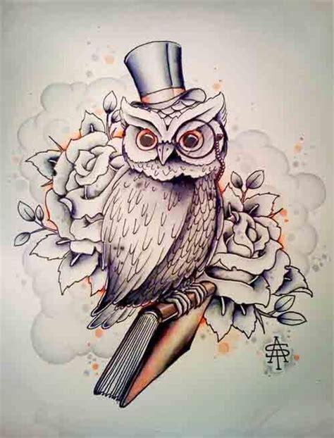 owl tattoo hat owl hat rose tattoo design tats pinterest hats what