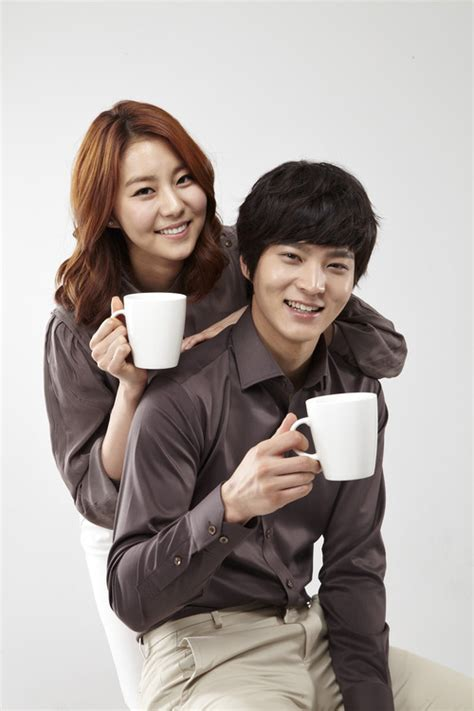 uee drama and film after school s uee and joo won film cf for cantata coffee