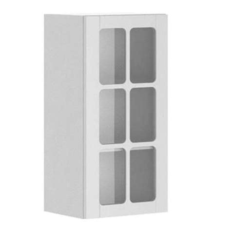 eurostyle 15x30x12 5 in odessa wall cabinet in white