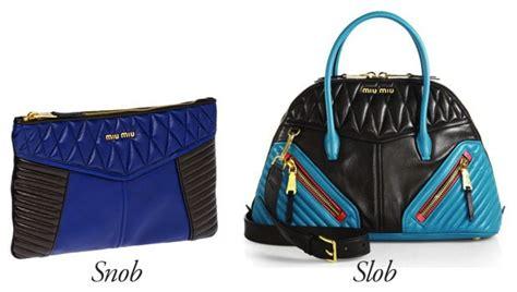 Snob Or Slob The Bag Snob 2 by Miu Miu Biker Bags